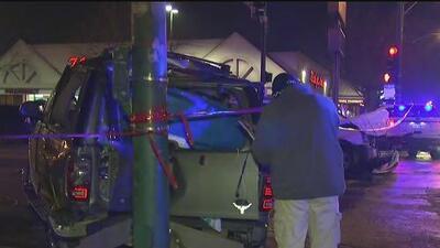 Dos niños heridos deja accidente entre dos vehículos en el barrio de Las Empacadoras