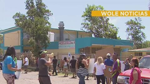Continúan las manifestaciones por el cierre de planteles escolares en Puerto Rico