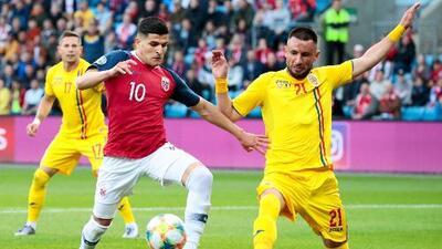 Noruega 2-2 Rumania - RESUMEN Y GOLES - Grupo F - Clasificatorio Eurocopa 2020