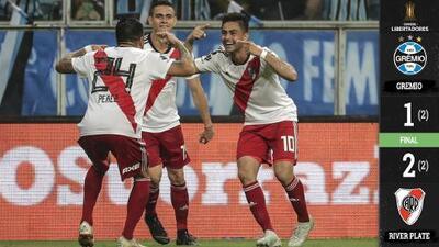 ¡A lo River! Con gesta épica en Brasil, River Plate está en la Final de la Libertadores