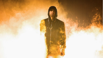 Eminem escapes an asylum after being 'Framed'