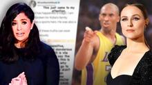"""Vanessa Bryant llama a Evan Rachel Wood """"vil y perturbadora"""" por decir que su esposo Kobe fue un """"violador"""""""