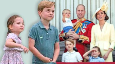 Como polos opuestos: descifran los contrastes en las personalidades del príncipe George y la princesa Charlotte