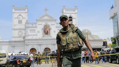 Cerca de 200 muertos y 500 heridos dejan atentados contra hoteles e iglesias de Sri Lanka cuando celebraban misas de Pascua