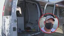 """""""Se llevaron todo"""": roban el vehículo y el sustento económico de esta humilde familia en Rosemead"""