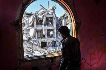 Así quedó la 'capital' de Estado Islámico en Siria tras ser liberada por las fuerzas de la coalición (fotos)