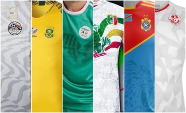 Las playeras de la CAN 2019: las selecciones africanas nunca decepcionan