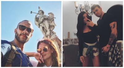 Cada uno con su nueva pareja: así celebraron Laura Carmine y Adriano Zendejas el Día de San Valentín