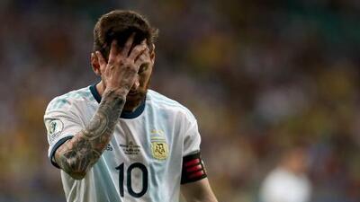 """Messi reconoce malestar tras caer ante Colombia: """"Nos vamos amargados"""""""