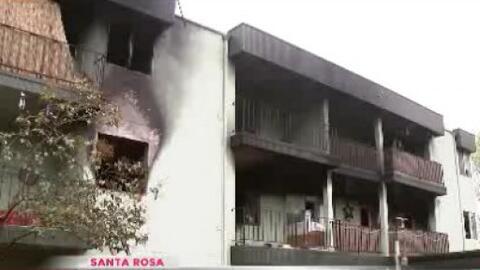 Incendio deja a varias familias sin hogar en Santa Rosa