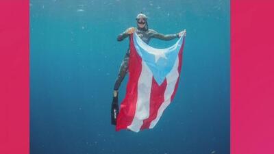 Hecho Aquí: Nuestro primer campeón de 'freediving'