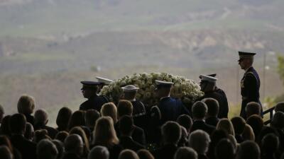 EEUU despide a Nancy Reagan en emotivo funeral repleto de personalidades