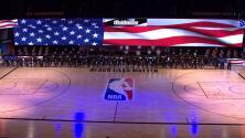 ¡Impresionante! Jugadores protestan en el arranque de la NBA