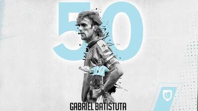 Gabriel Batistuta, verdugo de México en Ecuador 1993, cumple 50 años