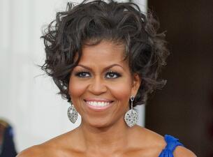 La sutil transformación en el maquillaje de Michelle Obama