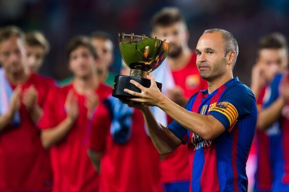 Barcelona buscó el regreso de Andrés Iniesta