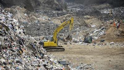 Deslave en basurero de Guatemala