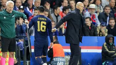 """Zidane tras perder ante PSG: """"Nos han superado en todo"""""""