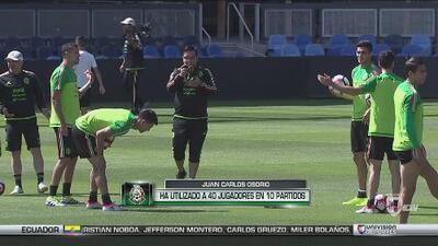 Juan Carlos Osorio ha utilizado 40 jugadores en 10 juegos