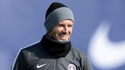 PSG quiere mantener a Beckham próximo año y niega que negocie por Cristiano