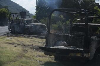 Lo que se sabe hasta ahora de la emboscada donde murieron 13 policías mexicanos (fotos)