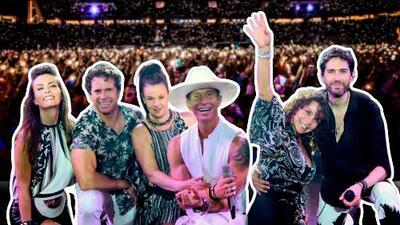 Timbiriche inicia la segunda etapa de su exitoso 'Tour Juntos' por EEUU