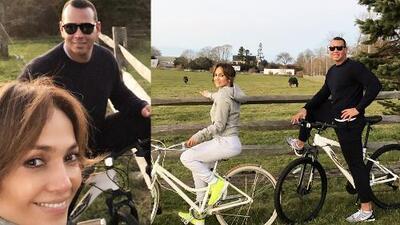 En familia, con amor y mucho ejercicio: así fue el Día de Acción de Gracias de Jennifer López y Alex Rodríguez