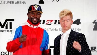 ¡Que siempre NO! Mayweather cancela su pelea con Tenshin Nasukawa