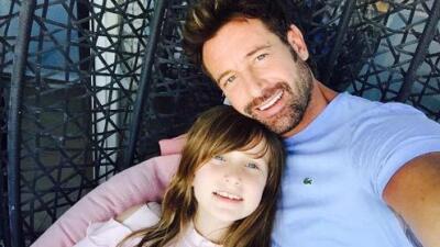 La hija de Gabriel Soto ama a su papá pero odia que la peine