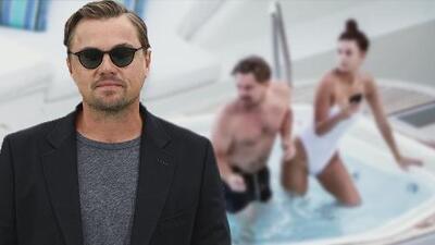 Así fue captado Leonardo DiCaprio al lado de su novia durante sus vacaciones en Italia
