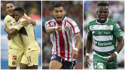 América, Chivas y Santos se llevaron el protagonismo en la J7 de la Liga MX