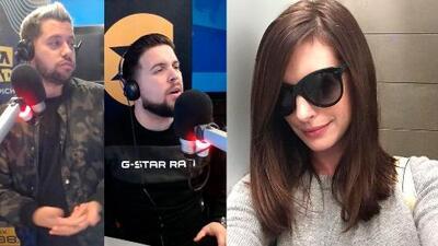 Anne Hathaway puso a La Gozadera a confesarse sobre sus resacas