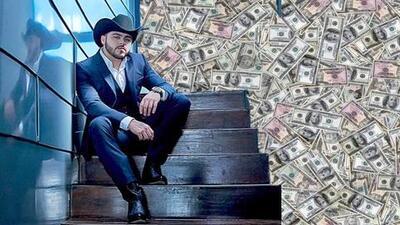 Detienen a un joven con 150,000 dólares que asegura pertenecen a Gerardo Ortiz