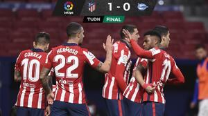 Atlético vence al Alavés y lame heridas que dejó la Champions