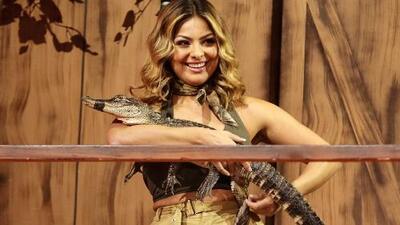 """A pesar de haber tenido un cocodrilo en sus brazos, a Nancy Alejandre le faltó """"un poco más"""""""