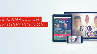 Univision lanza nuevo servicio streaming