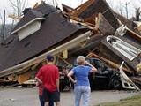 Al menos seis muertos tras el paso de tormentas y tornados en el sur de EEUU