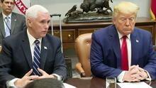 Congresistas demócratas y republicanos debaten el proceso de 'impeachment' para Donald Trump