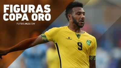 Figuras de la Copa Oro: Giles Barnes, el hombre veloz de la selección de Jamaica