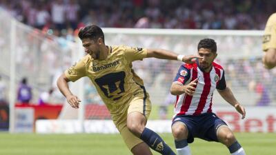 Cómo ver Pumas vs. Guadalajara en vivo, por la Liga MX