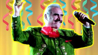 Cerca de los suyos: Vicente Fernández celebra 78 años