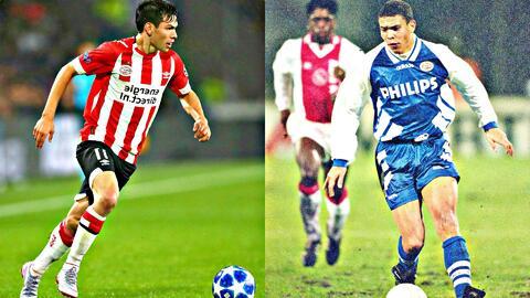 Aficionados del PSV comparan al 'Chucky' Lozano con Ronaldo