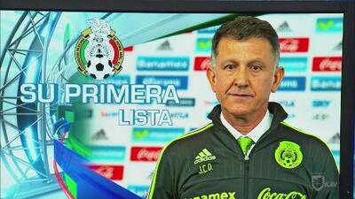 Osorio dio a conocer su primera lista de convocados a la Selección de México