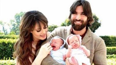 Aunque no puede ver a su hijo mayor, Osvaldo de León está feliz con sus gemelas, uno de sus mayores tesoros