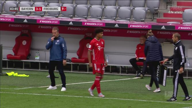 ¡Momento para la historia! Chris Richards, defensa de USA, hace su debut con Bayern Munich