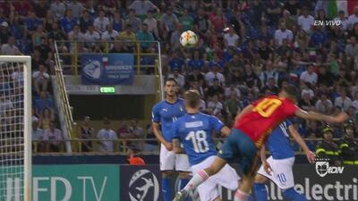 Detengan todo: recontragolazo de Dani Ceballos para el 1-0 ante Italia