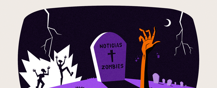 """En la red hay un """"zombie"""" que se resiste a morir: la desinformación"""