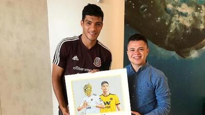 Jiovanny Lopez, el artista de los deportistas que ilustra al Tri