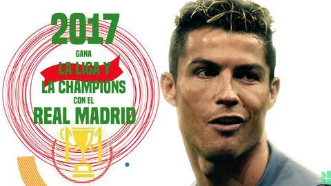 Retratos de Vida: Cristiano Ronaldo, sinónimo de goles, triunfos y éxitos