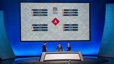 Tras el sorteo, así quedaron los grupos de la primera Liga de Naciones de la UEFA